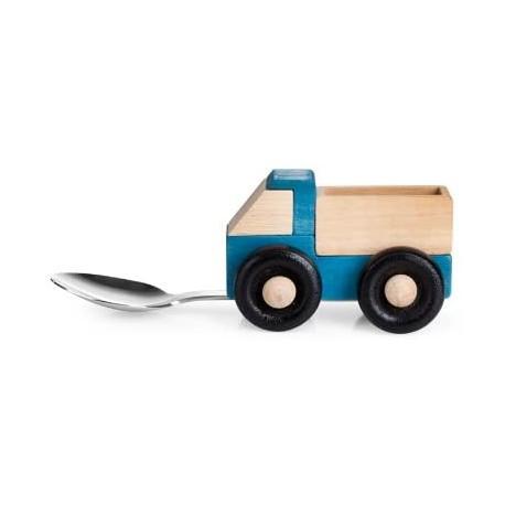 Cucchiaio in legno camioncino