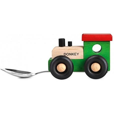 Cucchiaio in legno trenino