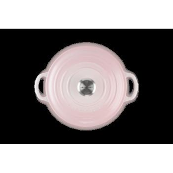 Cocotte marmitta evolution 24 cm shell pink Le Creuset