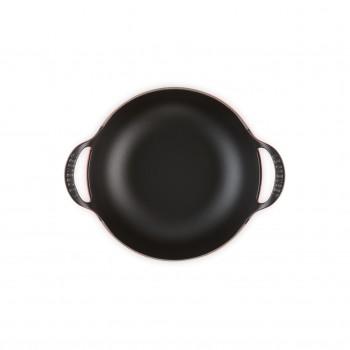 Cocotte Balti 24 cm Ciliegia Le Creuset con interno nero