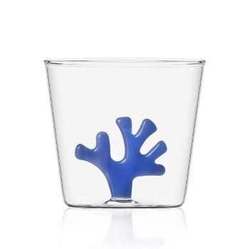 Bicchiere Ichendorf Milano corallo blu collezione Coral Reef