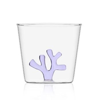 Bicchiere Ichendorf Milano corallo lilla collezione Coral Reef