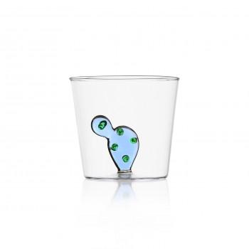 Bicchiere Ichendorf Milano cactus blu collezione Desert Plants