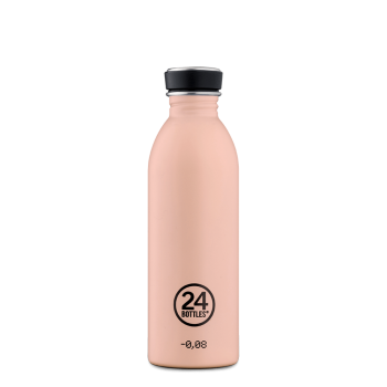Borraccia 24 bottles Urban Dusty Pink 1L