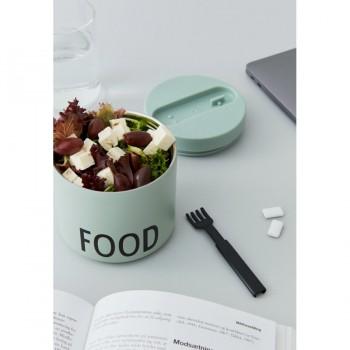 Lunch Box verde Design Letters