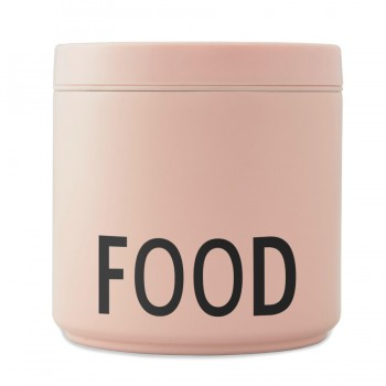 Lunch Box rosa nude Design Letters