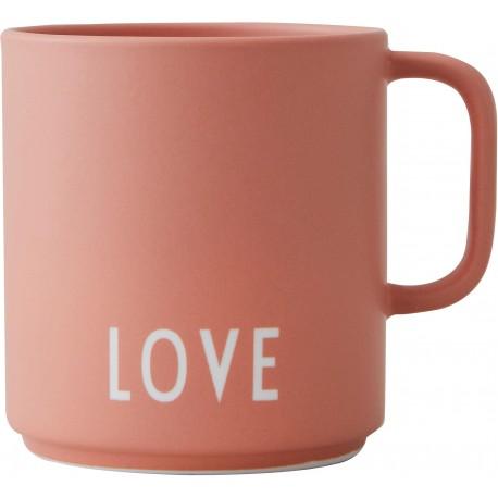 Mug Love Design Letters