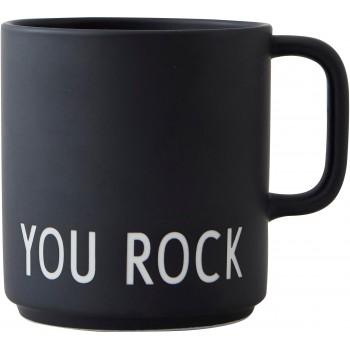 Mug You Rock Design Letters