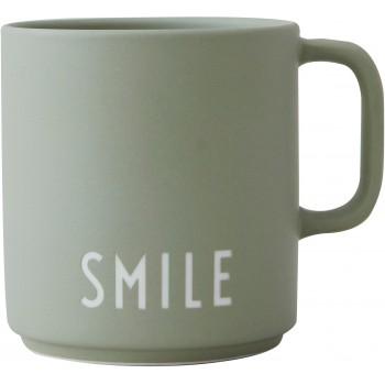 Mug Smile Design Letters