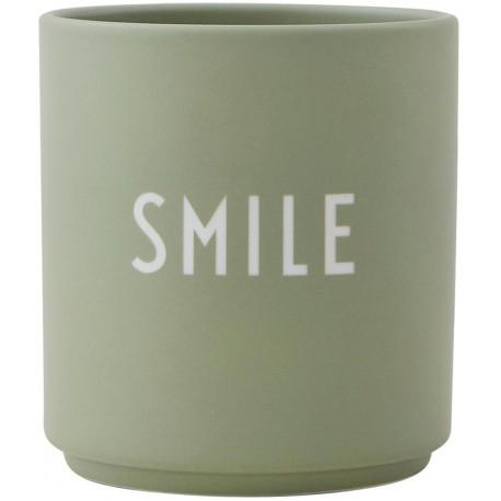 Tazza - Porta Candela Smile Design Letters