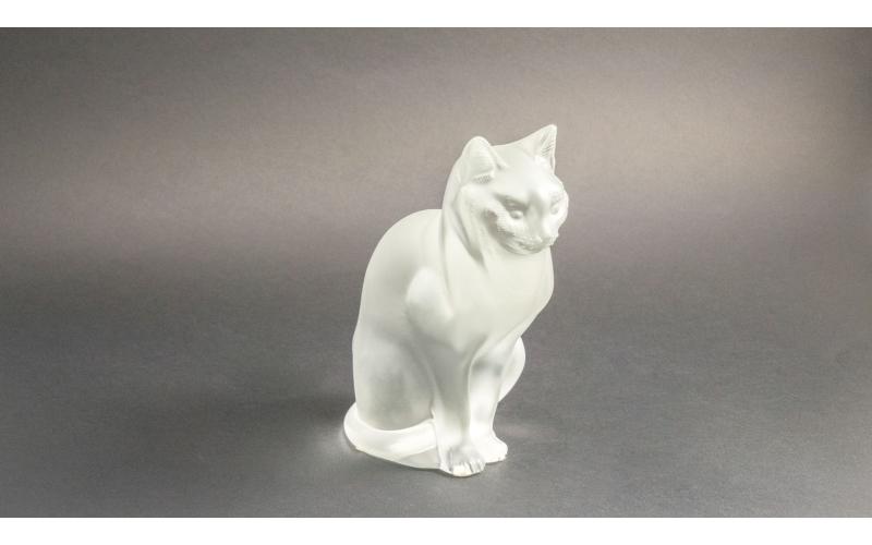 Gatto seduto Lalique
