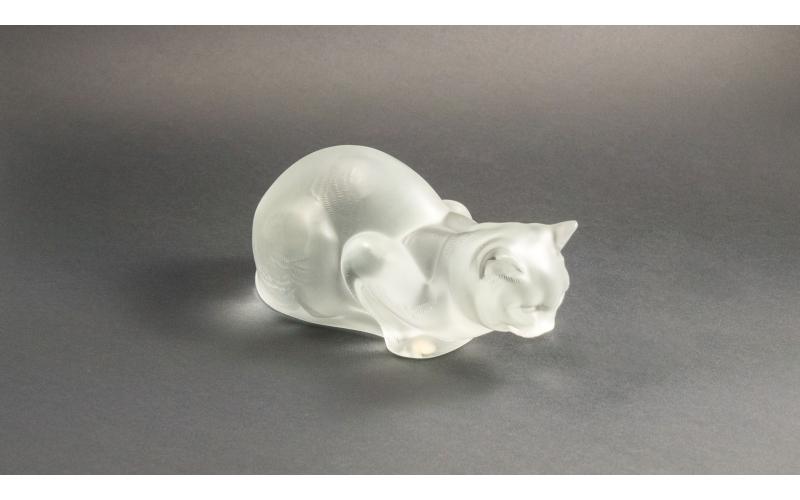 Gatto accucciato Lalique