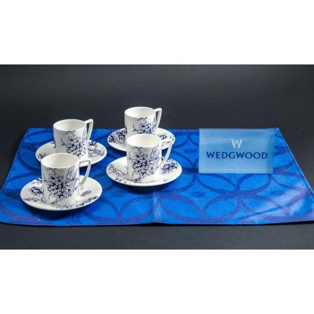 Servizio caffè da 12 Jasper Conran Blu Wedgwood